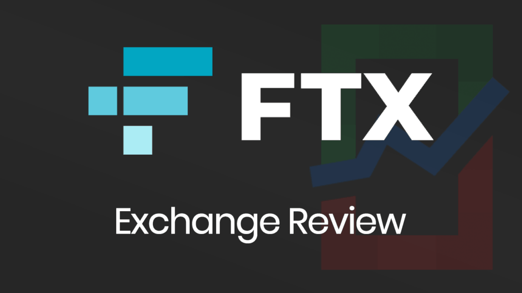 FTX Exchange Review banner with a dark background.